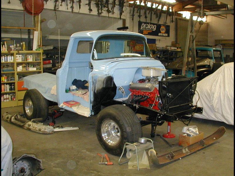 55 Chevy Half Ton 4x4